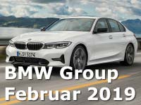 BMW Group liefert im Februar mehr als 171.000 Fahrzeuge aus