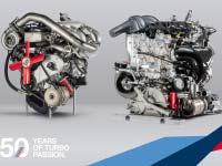 Der neue BMW DTM-Motor im Vergleich mit seinem Ur-Vater von 1969.