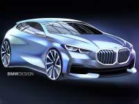 Der neue BMW 1er - Exterieur. Modernes Design mit neuen Proportionen und klaren Linien.
