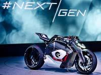 BMW Motorrad Vision DC Roadster.