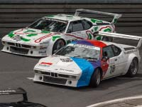 DTM: BMW M1 Procar Revival begeistert Fans und Prominente am Norisring.