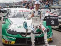 Marco Wittmann vom BMW Team RMG zeigt in Assen grandiose Aufholjagd vom letzten auf den zweiten Platz.
