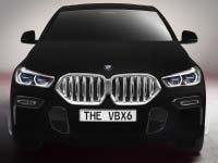 Neuer BMW X6 als spektakuläres Showcar: Weltweit erstes Fahrzeug in Vantablack®