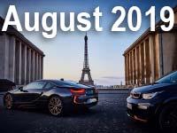 BMW Group setzt positiven Absatztrend im August fort