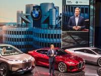 BMW Group Pressekonferenz auf der IAA 2019 in Frankfurt