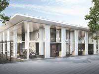 Der neue MINI Pavillon im Herzen von München