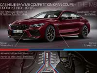 Das neue BMW M8 Gran Coupé und BMW M8 Competition Gran Coupé. Highlights.