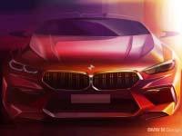 Das neue BMW M8 (Competition) Gran Coupé: Design.