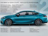 Das erste BMW 2er Gran Coupé. Highlights.