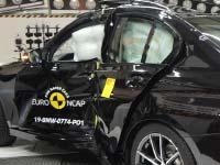 Euro NCAP Crashtest: 5 Sterne für die neue BMW 3er Reihe.