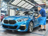 Das erste BMW 2er Gran Coupé geht in Serie. BMW Group Werk Leipzig startet Produktion des 4türigen Coupé.