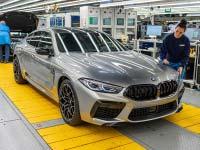 Produktionsstart des neuen BMW M8 Gran Coupé im BMW Group Werk Dingolfing
