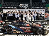 BMW Team RLL gewinnt Daytona-Thriller: Zweiter GTLM-Triumph für den BMW M8 GTE in Folge.