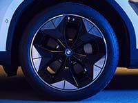 Neuartige Aerodynamik-Räder für den vollelektrischen BMW iX3