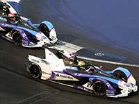 Alexander Sims beendet starke Aufholjagd beim Mexico City E-Prix als Fünfter.