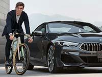 Markteinführung des neuen 3T FOR BMW Bike.