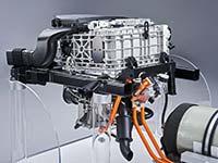 Das Antriebssystem des BMW i Hydrogen NEXT - BMW bekräftigt Engagement bei Wasserstoff-Brennstoffzellen-Technik.