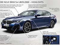 Die neue BMW 5er Reihe (Facelift 2020): Highlights.