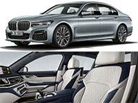 BMW 7er zum Modelljahr 2021 mit neuen Dieselmotoren, optimierter Integral Aktivlenkung, sowie neuen Außen- und Innenfarben.