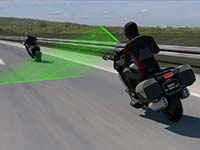 Die neue BMW Motorrad Active Cruise Control (ACC).