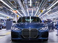 Serienstart des neuen BMW 4er Coupé im BMW Group Werk Dingolfing.