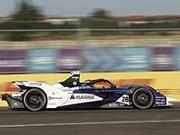 Enttäuschung für BMW i Andretti Motorsport Fahrer im zweiten Rennen in Berlin.
