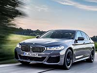 Die neue BMW 545e xDrive Limousine.