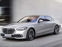 Neue Konkurrenz für den 7er: die neue Mercedes-Benz S-Klasse (W223)