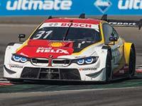 Vier BMW DTM-Werksfahrer beenden das Sonntagsrennen auf dem Nürburgring in den Top-Ten.