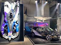 Zukunftstechnologie zum Anfassen: BMW i Motorsport auf dem Greentech Festival in Berlin.
