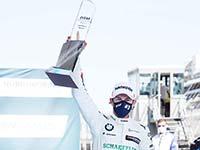 Podiumserfolg auf dem Nürburgring: Marco Wittmann beendet Samstagsrennen auf Platz drei.