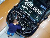 Erster seiner Art und Innovationstreiber für nachhaltige Mobilität: Schon 200.000 BMW i3 produziert.