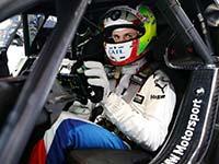 Jonathan Aberdein fährt im Samstagsrennen in Zolder im CATL BMW M4 DTM auf Platz vier.
