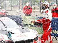 Robert Kubica fährt im BMW M4 DTM erstmals aufs Podium - Timo Glock wird Vierter.