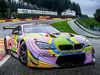 Drei BMW M6 GT3 treten bei den 24 Stunden von Spa-Francorchamps an.