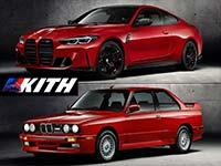 BMW und Kith legen exklusive Edition des neuen BMW M4 Competition Coupé auf.